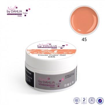 Dahlia Color Gel UV  de finition  couleurs N°45