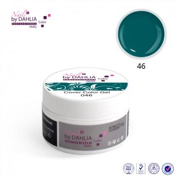 Dahlia Color Gel UV  de finition  couleurs N°46