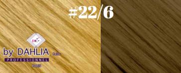 Dahlia Color Dahlia Hair Extension longueur 20 inch ( 50 cm)  #6/22