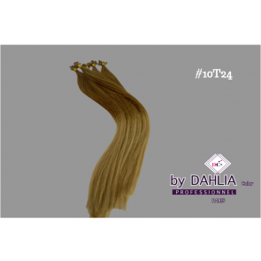Dahlia Color Dahlia Hair Extension longueur 20 inch ( 50 cm)  #10T24