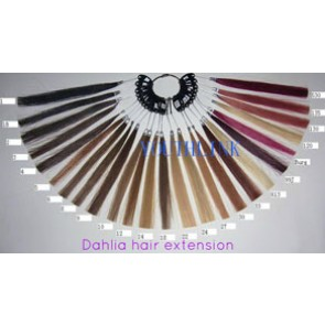 Dahlia Color Méchier hair extension