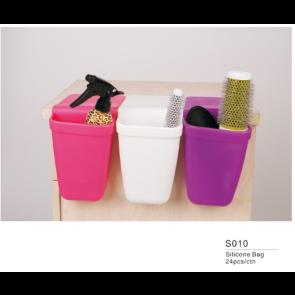 dahlia Color Porte accessoires pour bac en silicone  S010