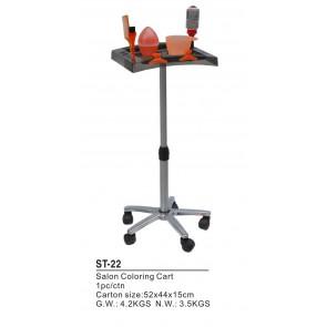 Dahlia Color Table de travail grise pour coloration