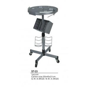 Dahlia Color Table de travail grise, pour extension et coloration
