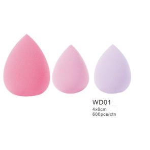Dahlia Color beauty blender forme d'oeuf en mousse maquillage teint.