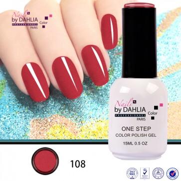 Dahlia Color Vernis semi-permanent 3 en 1  15mL N108
