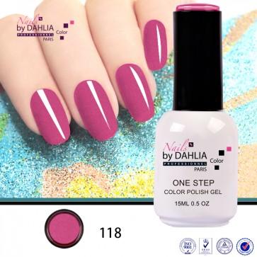 Dahlia Color Vernis semi-permanent 3 en 1 15mL N118