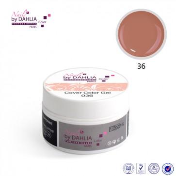 Dahlia Color Gel UV  de finition  couleurs N°36