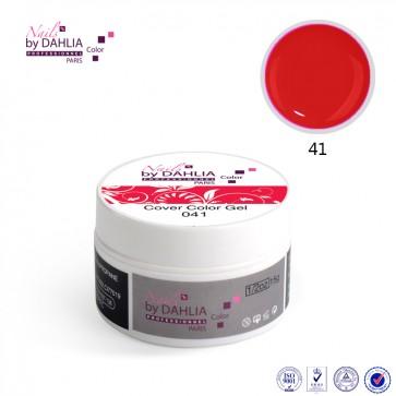 Dahlia Color Gel UV  de finition  couleurs N°41