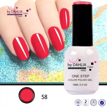Dahlia Color Vernis semi-permanent 3 en 1  15mL  N58