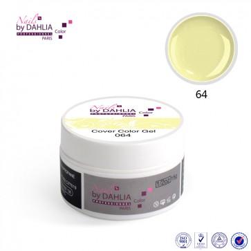 Dahlia Color Gel UV  de finition  couleurs N°64