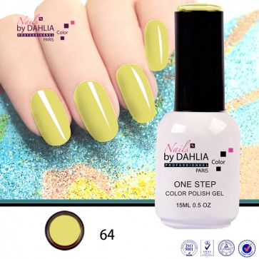 Dahlia Color Vernis semi-permanent 3 en 1  15mL N64