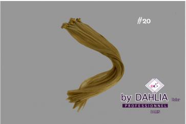 Dahlia Color Dahlia Hair Extension longueur 20 inch ( 50 cm)  #20