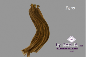 Dahlia Color Dahlia Hair Extension longueur 20 inch ( 50 cm)  #4/27