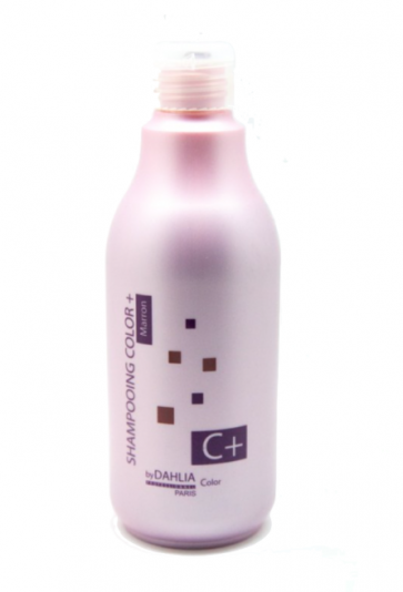 Dahlia Color Shampoing ravive couleur  Color+ Marron 500 ml