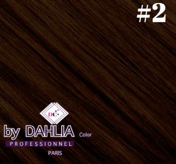 Dahlia Color dahlia Hair Extension Clip  ( 50 cm) - 02