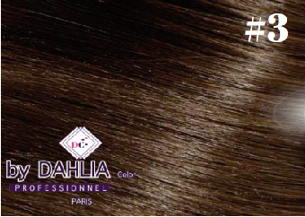 Dahlia Color Dahlia Hair Extension longueur 20 inch ( 50 cm)  #3