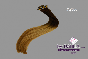 Dahlia Color Dahlia Hair Extension longueur 20 inch ( 50 cm)  #4T27