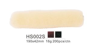 Dahlia Color Crêpon Couronne (boudin) pour Chignon, cheveux, Taille 190X43 mm 3 couleurs  HS002S