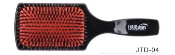 Dahlia Color Brosse plate noire et rouge