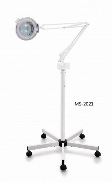 Lampe SENS & DERME  Loupe Led Prémium avec Pied MS-2021