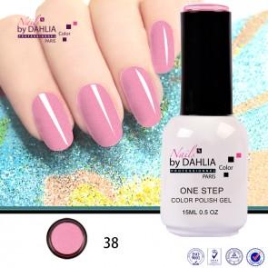 Dahlia Color Vernis semi-permanent 3 en 1 15mL N38
