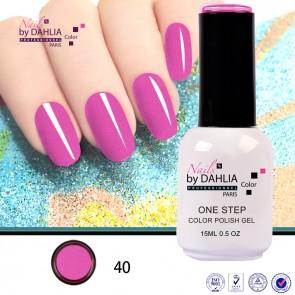 Dahlia Color Vernis semi-permanent 3 en 1 15mL N40