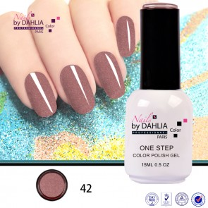Dahlia Color Vernis semi-pemanent 3en 1 15mL N42