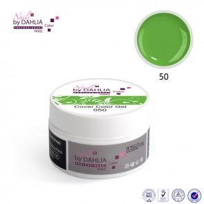 Dahlia Color Gel UV  de finition  couleurs N°50