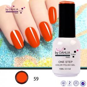 Dahlia Color Vernis semi-permanent 3 en 1 15mL N59