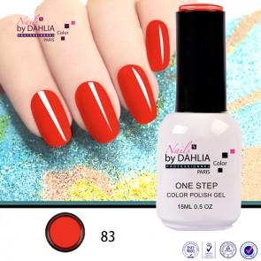 Dahlia Color Vernis semi-permanent 3 en 1 15mL N83