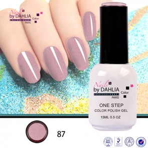 Dahlia Color Vernis semi-permanent 3 en 1 15mL N87