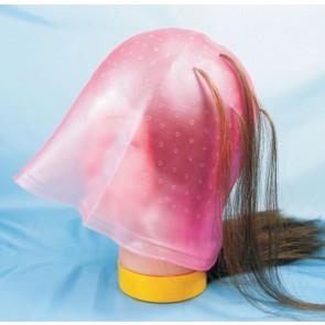 Dahlia Color Bonnet de mèches rose avec crochet