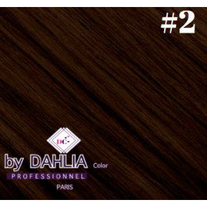 Dahlia Color dahlia Hair Extension Clip  ( 50 cm) - 02