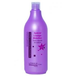 Dahlia Color Shampoing Spécial Lissage Brésilien à la Kératine 1000mL