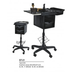 Dahlia Color Table de travail noire