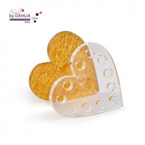 Porte limes - pinceaux forme coeur (ref : ZS-13)